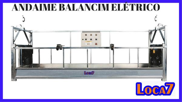 andaime balancim eletrico